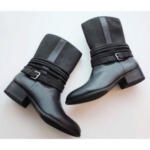 Chaps • Black Ankle Gari Moto Boot